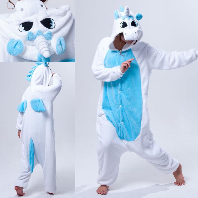 Кигуруми Голубой Единорог - Купить пижаму кигуруми в СПб недорого d718cc88a79ef