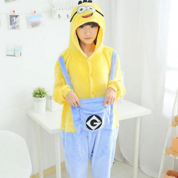 Миньон кигуруми пижама