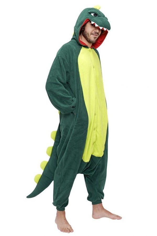 Кигуруми Крокодил Годзилла Дракон