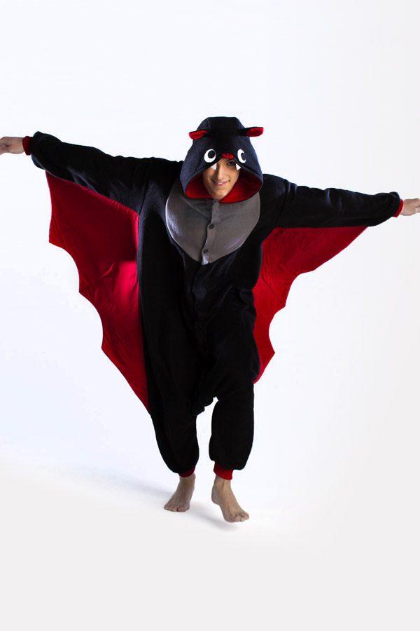 Купить пижаму кигуруми в виде Летучей Мыши в СПб