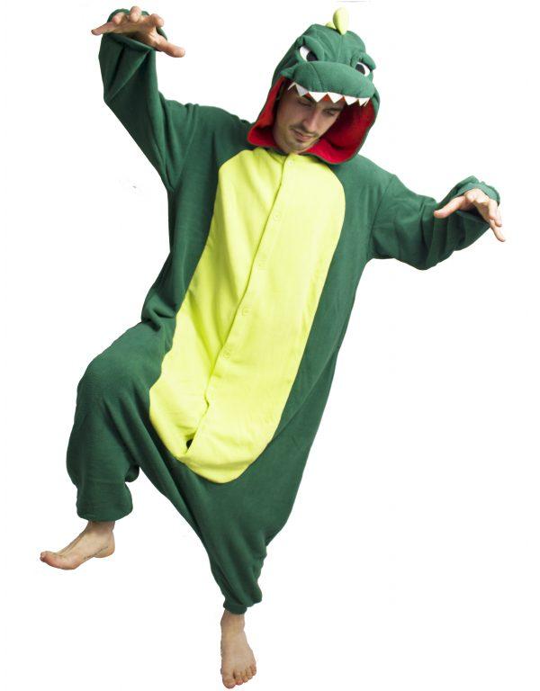 Кигуруми пижама Годзилла Крокодил Дракон