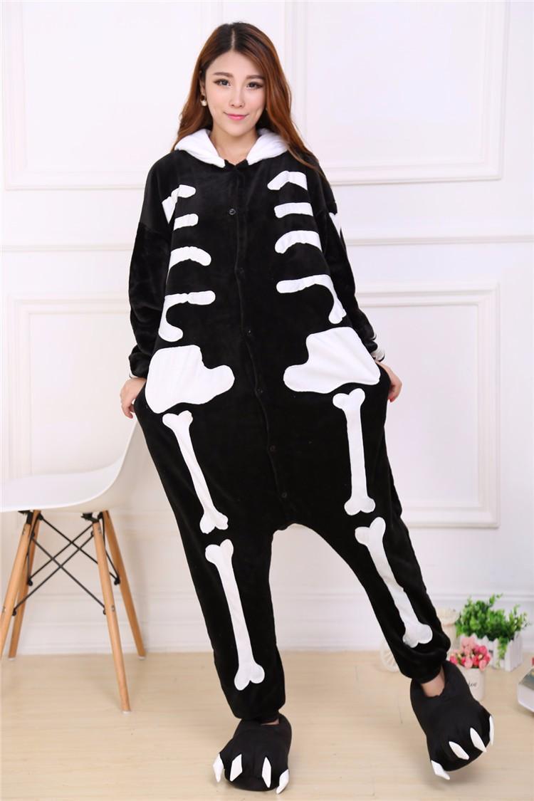 Пижама кигуруми Скелет