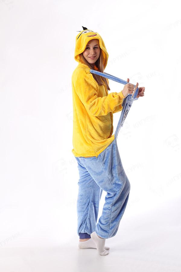 Недорого купить пижаму кигуруми Миньон в СПБ