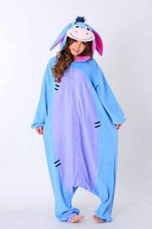 Ослик Иа кигуруми пижама
