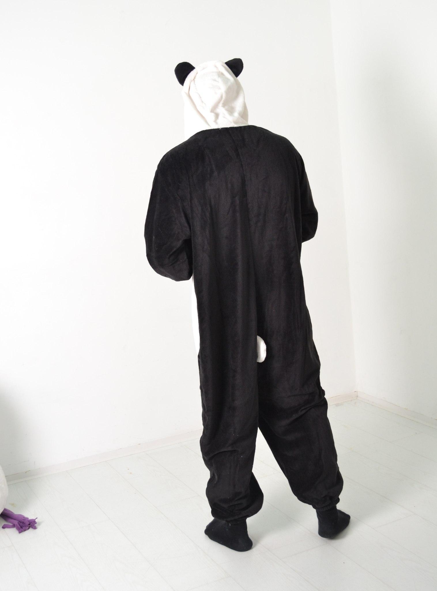 Панда кигуруми пижама
