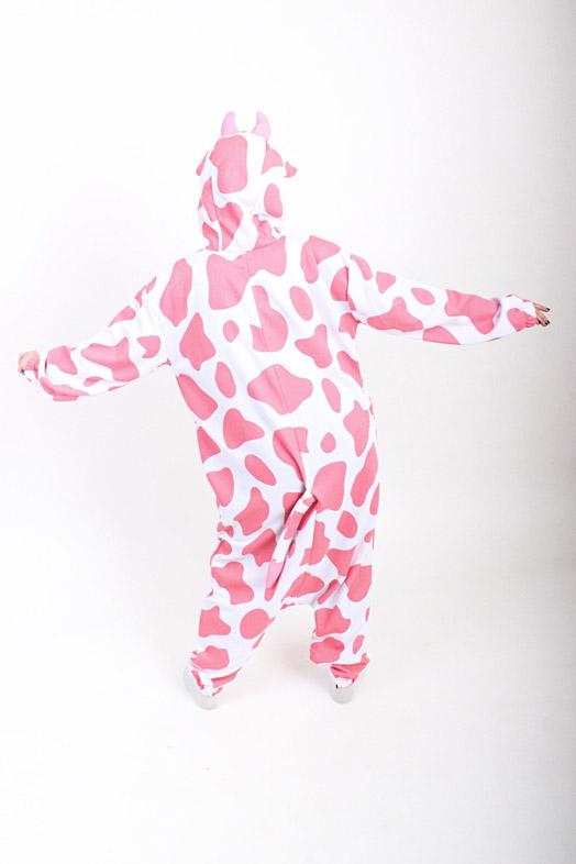 Розовая Корова кигуруми купить