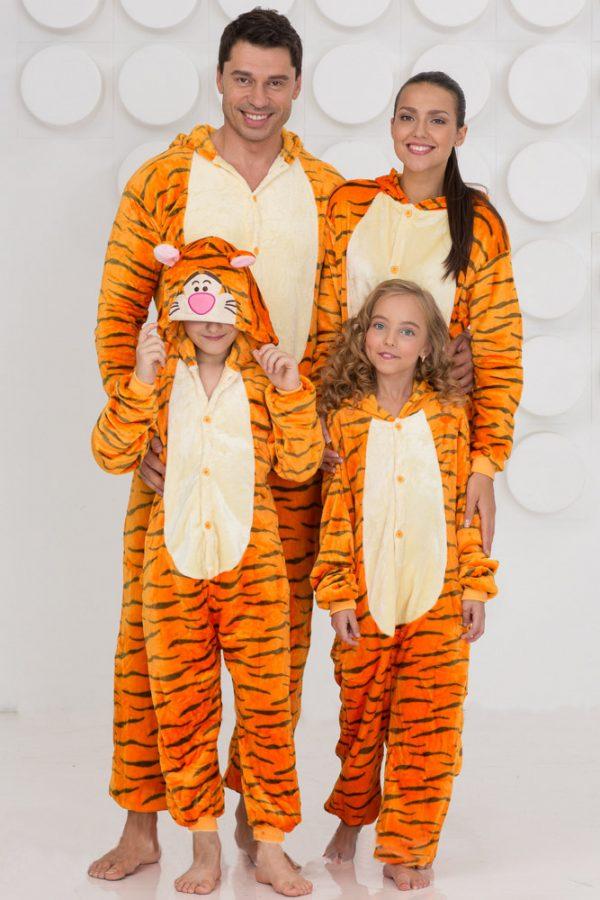 Пижама кигуруми Тигра купить в СПБ