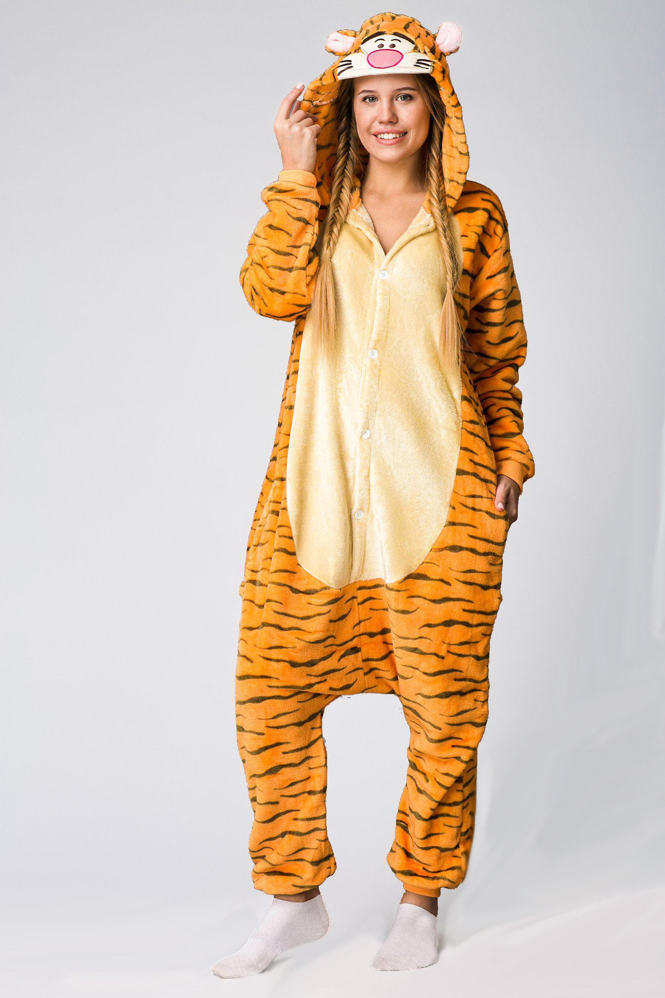 Тигр кигуруми пижама купить в СПБ