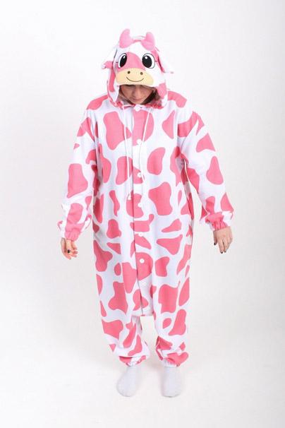 Корова розовая кигуруми купить
