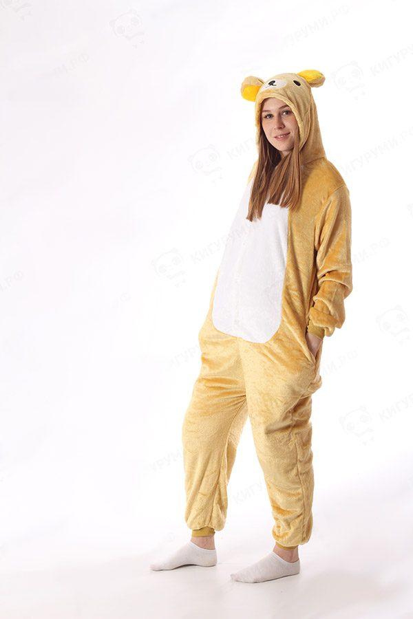 Недорого купить кигуруми пижаму медведь в СПБ