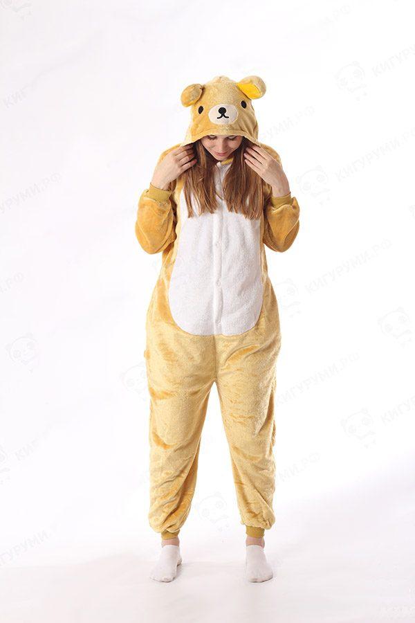 Пижама кигуруми медведь купить в СПБ