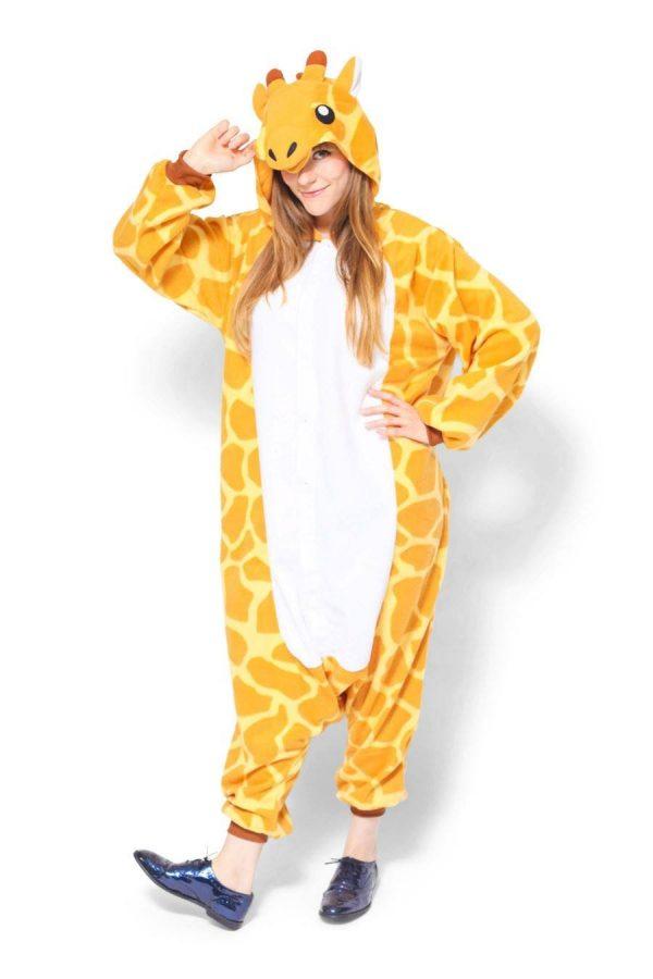 Пижама кигуруми жираф в СПБ недорого