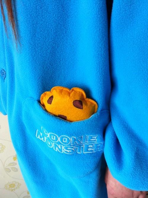 Купить кигуруми Cookie Monster в СПб недорого