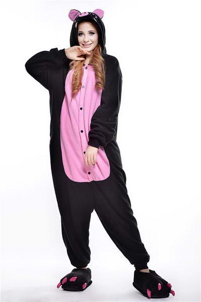 Купить пижаму кигуруми Поренок Черный в СПБ