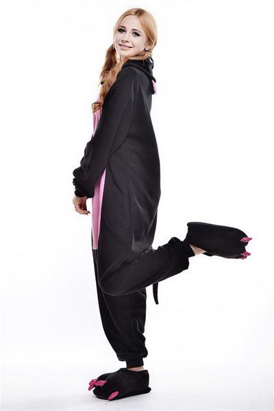 Недорого купить пижаму кигуруми Поренок Черный в СПБ
