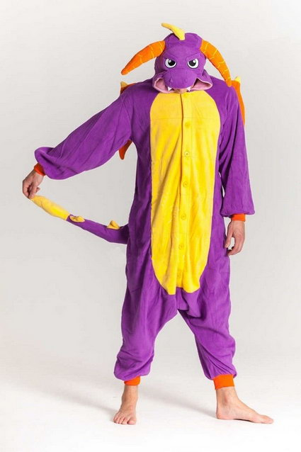 Купить пижаму кигуруми Дракон в СПБ