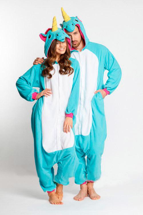 Пижама кигуруми Голубой Единорог купить в СПБ
