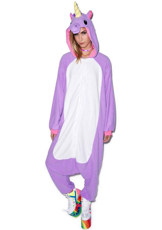 Пижама кигуруми Сиреневый Единорог купить в СПБ