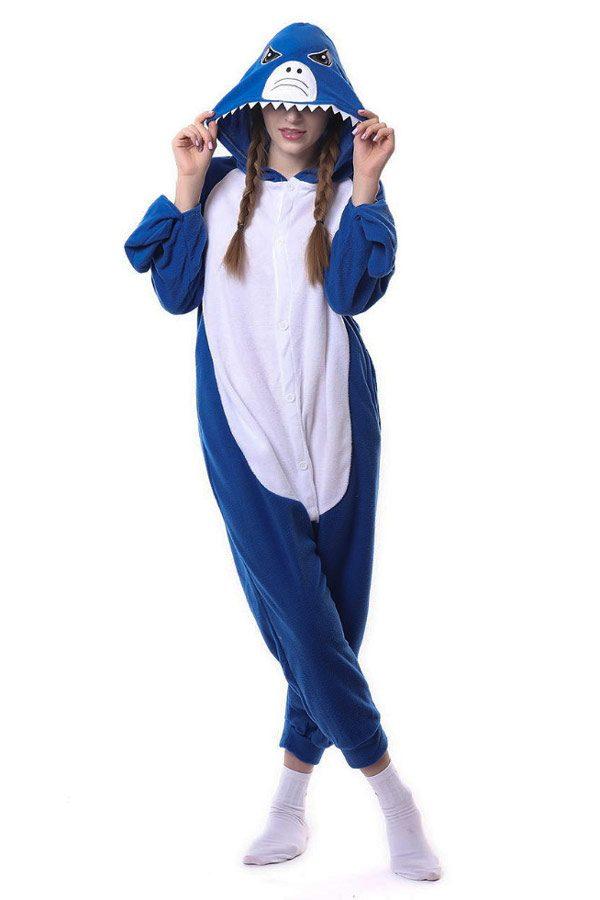 Пижама кигуруми в виде Акулы в СПБ недорого