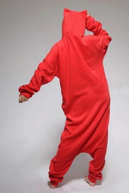 Недорого купить пижаму кигуруми Красный Кот в СПБ