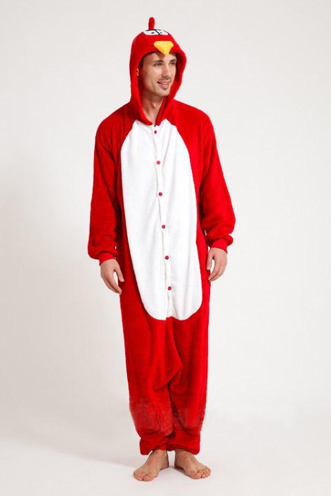 Пижама кигуруми в виде Энгри Бердз в СПБ недорого
