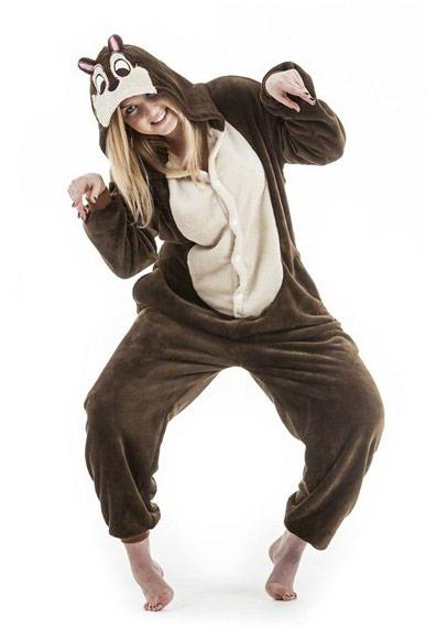 Пижама кигуруми Бурундук купить в СПБ