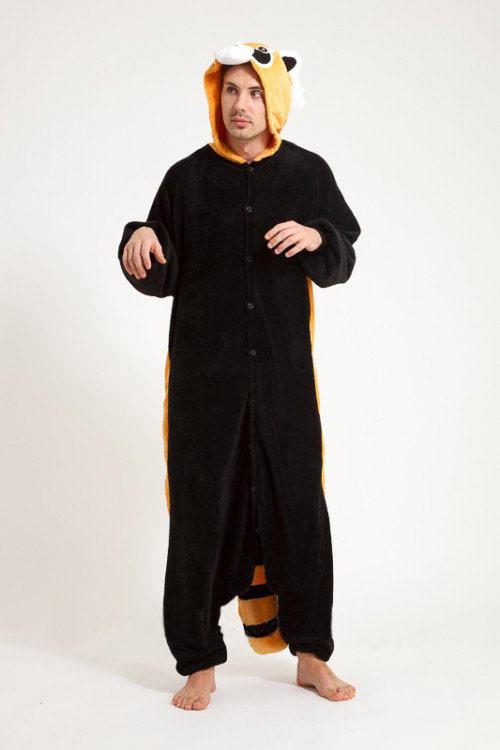 Пижама кигуруми в виде коричневого Енота в СПБ