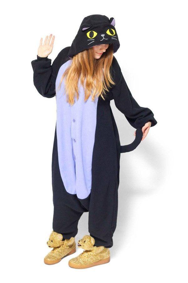 Пижама кигуруми Черный Кот / Кошка в СПБ недорого