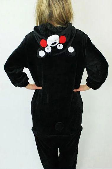 Недорого купить кигуруми в виде черного мишки Кумамон Kumamon в СПб