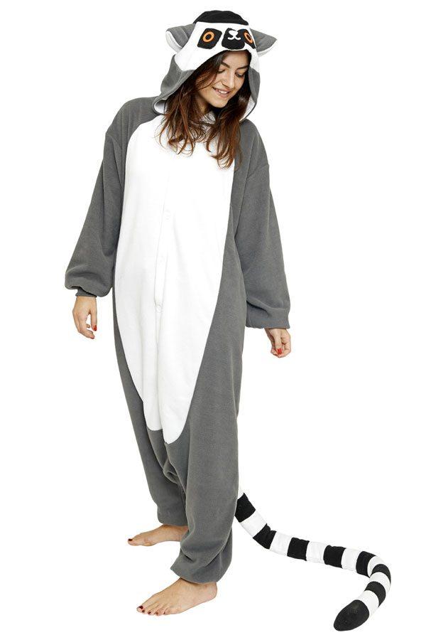 Пижама кигуруми в виде животного лемур в СПБ недорого
