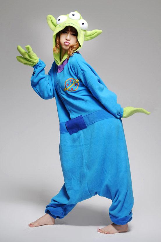 Пижама кигуруми Инопланетянин купить в СПБ недорого