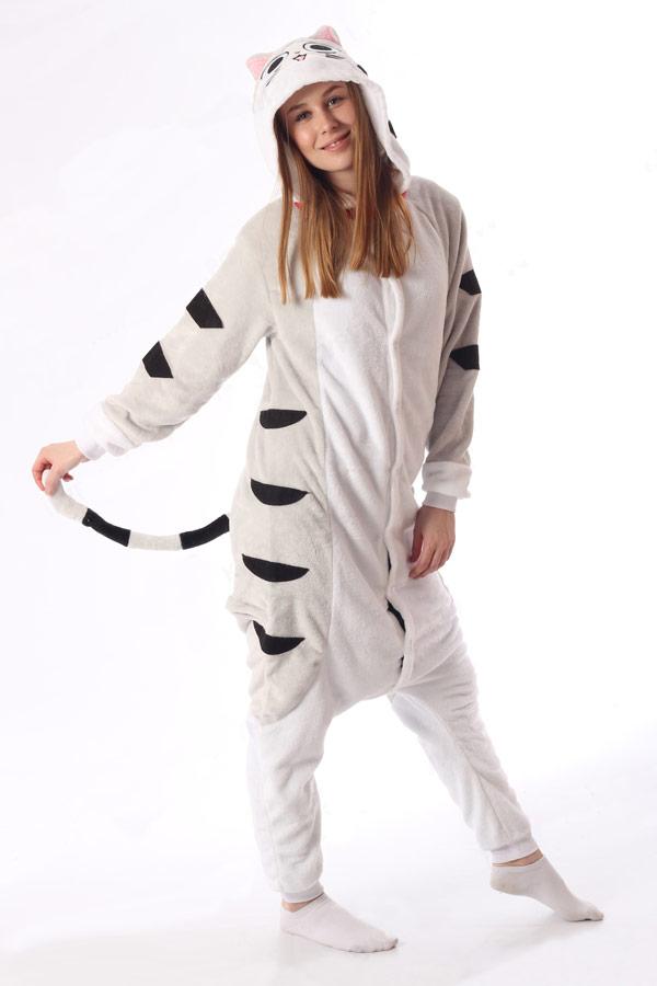Пижама Серый Котенок Чии - Купить пижаму кигуруми в СПб недорого 371d952b0802d