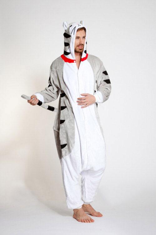 Пижама кигуруми серый Кот / Котенок / Кошка купить в СПБ