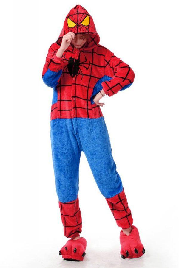 Пижама кигуруми в виде Человека паука в СПБ недорого