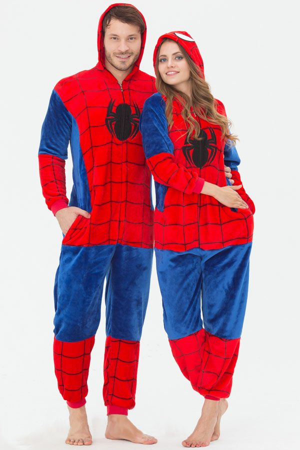 Пижама кигуруми Человек-паук / Спайдермен купить в СПБ