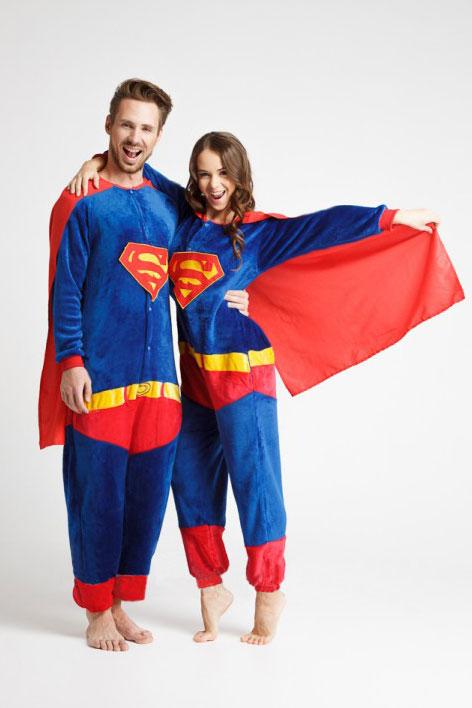 Пижама кигуруми Супермен / Superman купить в СПБ