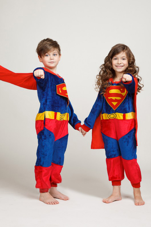 Пижама кигуруми в виде Супермена Superman в СПБ