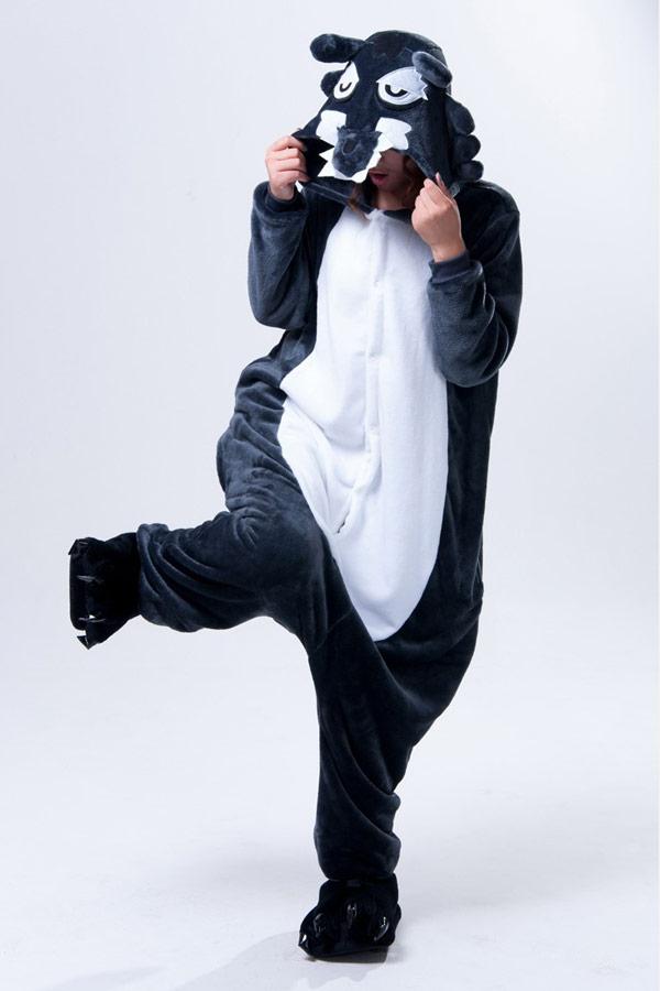 Пижама кигуруми в виде волка в СПБ недорого