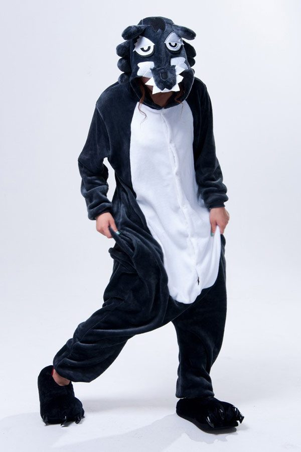 Пижама кигуруми Серый Волк купить в СПБ