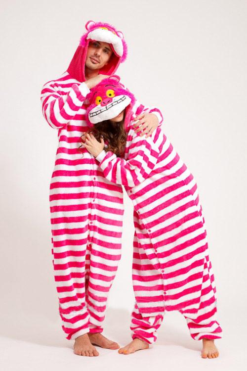 Пижама кигуруми в виде полосатого Чеширского Кота в СПБ