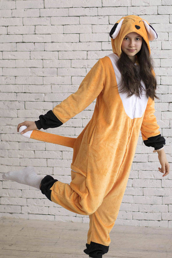 Кигуруми Лис   Лиса - Купить пижаму кигуруми в СПб недорого e85fa7902a7ed