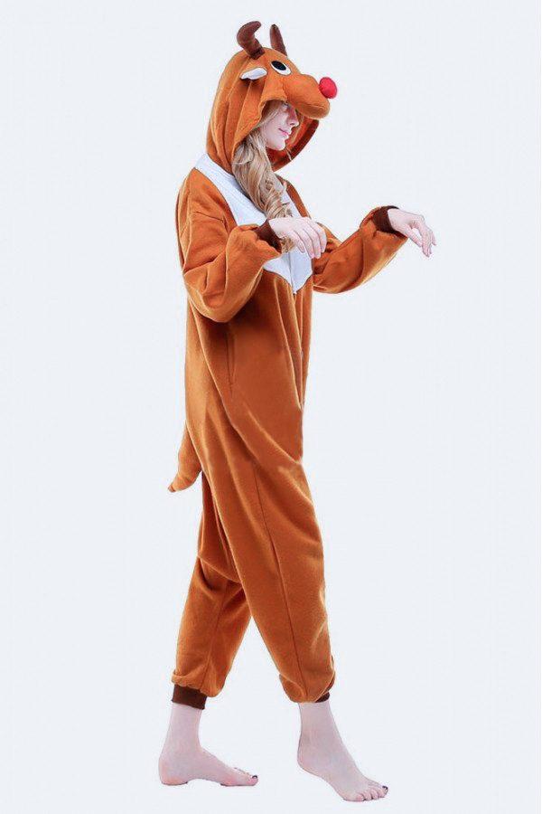 Пижама кигуруми в виде Оленя / Лося в СПБ недорого