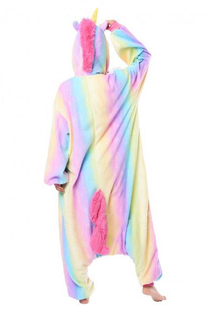 Недорого купить кигуруми Радужный Единорог разноцветный в СПб 6bda75ffa7fd9