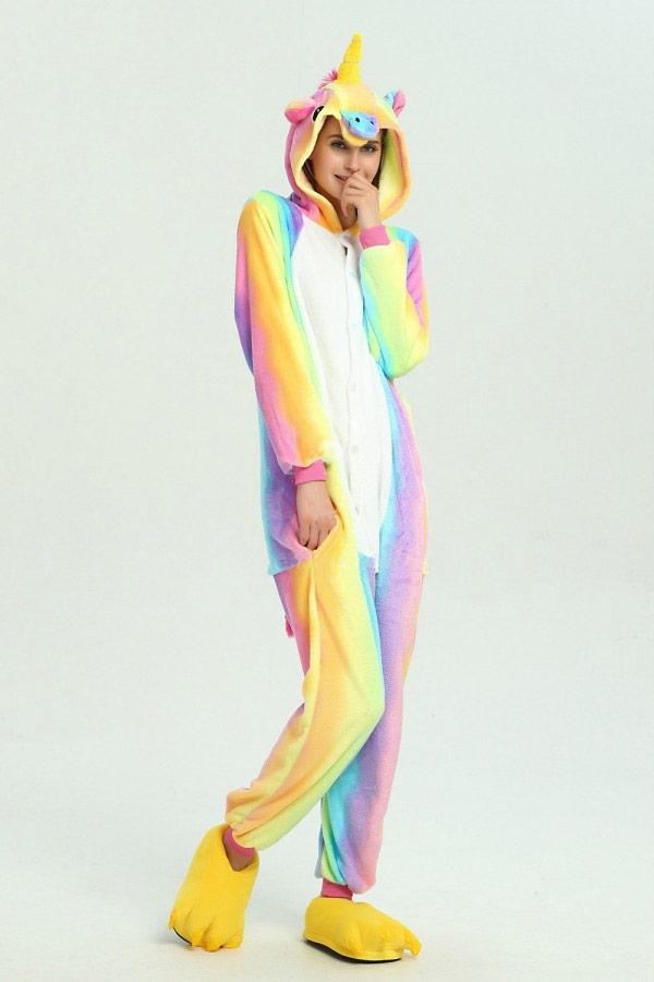 Радужный Единорог - Купить пижаму кигуруми в СПб недорого e0b7244413e73