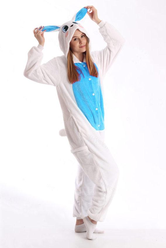 Пижама Голубой Заяц - Купить пижаму кигуруми в СПб недорого 84f94a1deb452