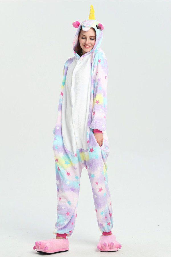 Пижама кигуруми в виде Единорога в звездочку в СПБ недорого