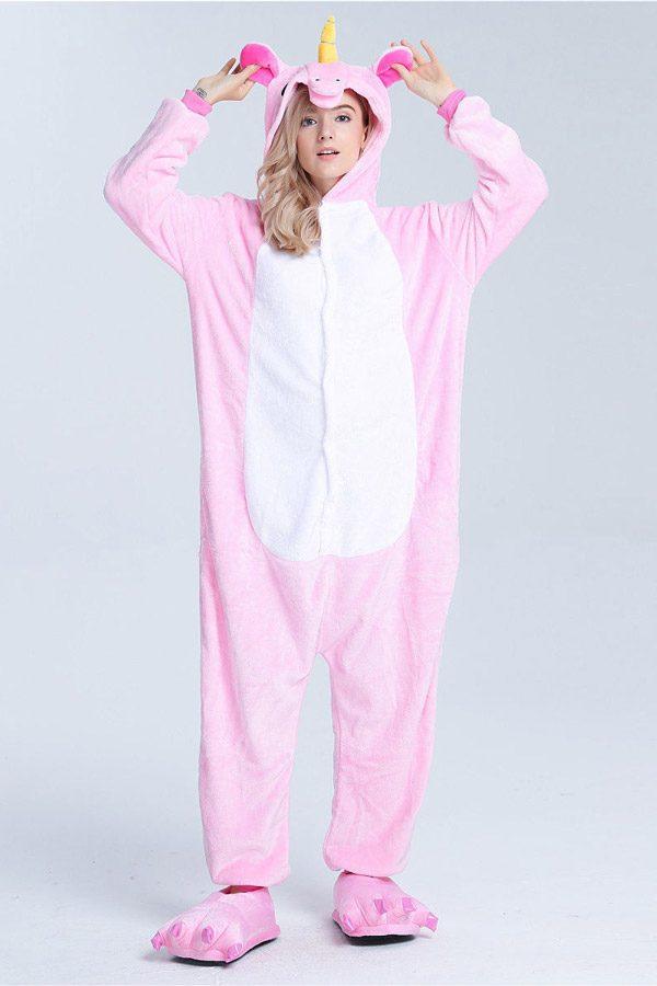 Пижама кигуруми Розовый радужный пони единорог в СПБ недорого