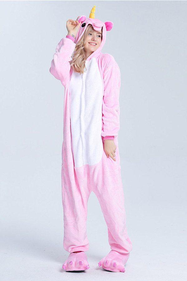 Пижама кигуруми Розовый единорог радужный пони купить в СПБ