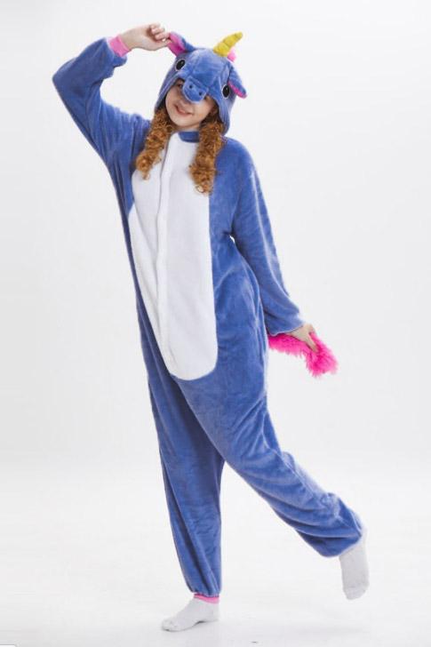 Пижама кигуруми в виде Синего единорога пони в СПБ недорого