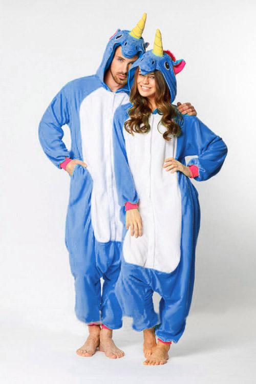 Пижама кигуруми Синий радужный пони единорог в СПб